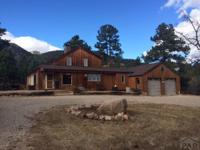 This home sits on 7.28 beautiful acres of land!