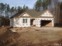 New Construction in small subdivision, this home will