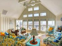 Amazing Gulf view & ocean air are captivating!The huge