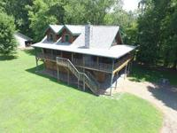 Nc mountain creekfront log cabin!! Located at the base