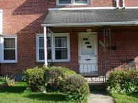 Just reduced!!Well maintained brick row home, 3br, 2fb,