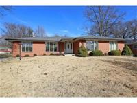 Welcome home to this all brick ranch style home located