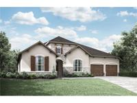New Drees Custom Home in Caliterra! The Archer plan is