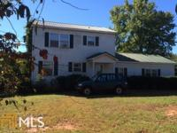 Great property with 15+ acres. Home has partial