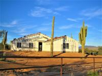 Brand new custom home, nestled on a pristine, fenced,