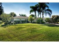 Beautiful SE Cape Coral Home with sunny Southern