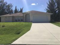 Beautiful pool home offering 3 large bedrooms and 2