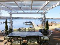 Come see this incredible Lake Whatcom Waterfront Home