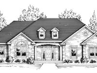 Custom built brick ranch with open floor plan!