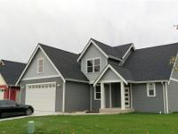 Newly built two-story home waiting for you! Includes
