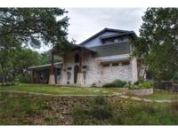 Custom built hill country home with privacy from road