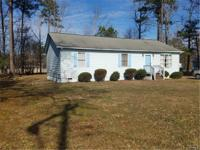 Great Rancher with a large eat-in kitchen, 3 Bedrooms,