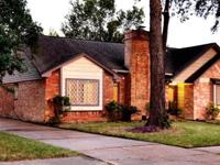 Located in Woodforest/GPISD, home has a spacious
