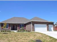 New brick ranch 1,889 sq ft, 3 bedroom, 2 1/2 baths,