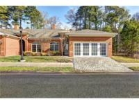 Stunning and well crafted brick home offering one level