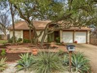 If you like a beautiful neighborhood w/mature oaks &