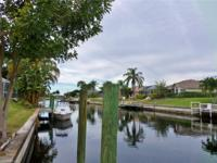 Gulf Access Pool Home in SE Cape Coral's Country Club