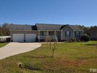 Gorgeous ranch style home in a country setting. Large