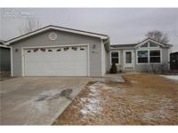 This 3 bed 2 bath home has just under 1400 sq feet of