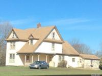 2-Story Frame Farm House, Barns & Garage On 2.8 Acre