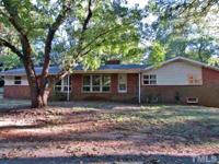 3 Bedroom / 2.5 Bath Brick Ranch On Large .62 Acre Lot.