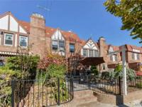 Tudor Style Townhse.1st Fl:Lr W/Brick Fp, Fdr, Updated