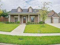 Beautiful home in great south Tyler location. Custom