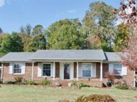 Outstanding location! Brick 3 bdrm/2 bath home with