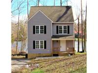 Waterfront, 3 story, new construction home on Kent Lake