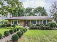 Awesome location for this brick ranch. Across from
