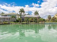 Highly desirable southern exposure home on the water.