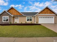 Beautiful new 3 bed, 2 bath rambler in a peaceful 55