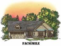 To be built - beautiful craftsman style ranch. One