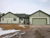Very nice custom ranch style home on approx. 3.8 acres,