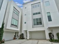 Beautiful 4 story contemporary town home in prestigious
