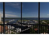 Enjoy Spectacular Wide Open Views of the marina,