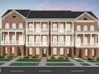 New construction luxury townhomes by John Wieland in an