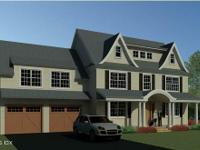 Proposed new 4086 sq ft colonial. 4 bed 3.5 baths, 9 ft