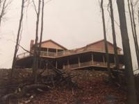 Secluded 3Br,3full bath brick ranch on 19+Acres,