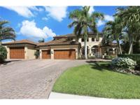 Luxury living located on incredible gulf acces