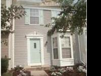 Bright Airy 3 bed Townhouse in quiet community. 2 large