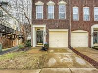 Lovely brick front end unit gar townhouse in great