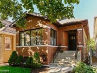 A certified Chicago Bungalow that has undergone a