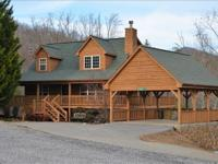 Trackrock Area Mountain Home. Beautiful 3/3 Cabin style