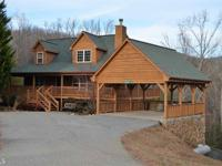 Trackrock Area Mtn Home. Beautiful 3/3 Cabin style home