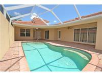 3 Bedroom 3 Bath Pool Home in popular Estero, Florida.