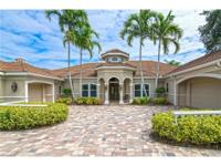 This estate home enjoys one of the best view lots in