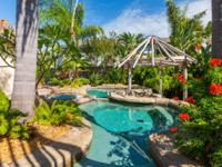 Gorgeous one of kind find on Tiki with backyard OASIS.