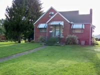 2.83 acres with low property taxes. Secluded and