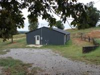 3 Bedroom 2 Bathroom Post Frame House with 1 acre of